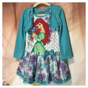 Disney Princess Ariel Dress in size 4
